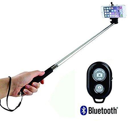 CaseJunction HRZ071 Bluetooth Selfie Stick