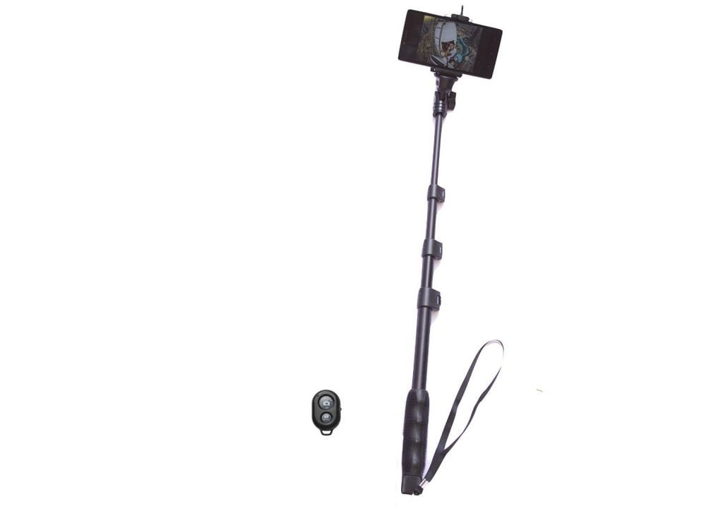 Yunteng 4Section Selfie Stick