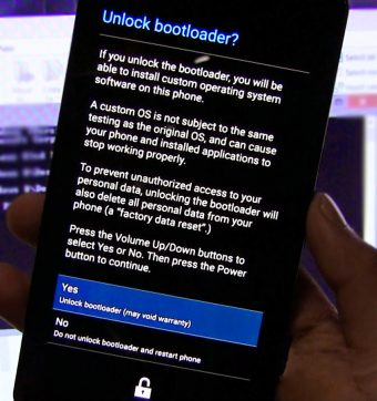unlock your bootloader