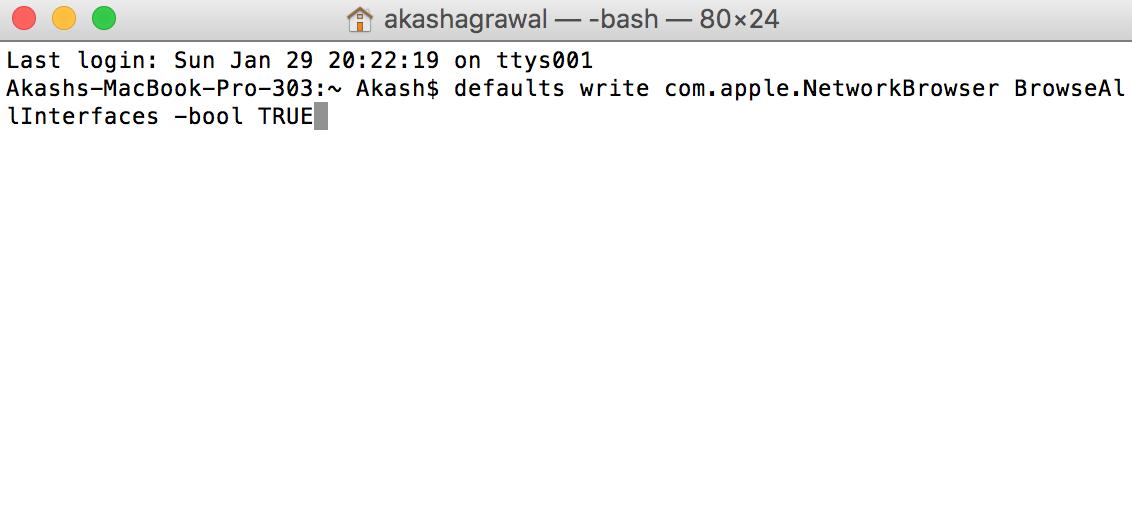 Airdrop for older mac