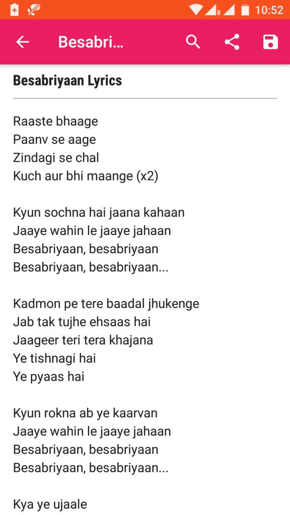 Lyricsmint app