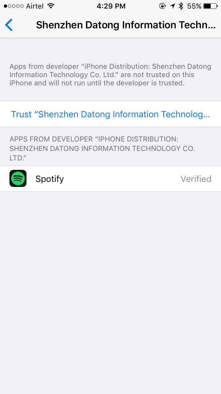 Spotify++ Trust Developer