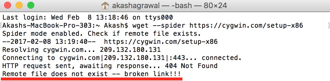 URL Incorrect
